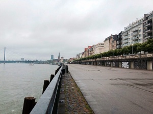 My run along the Rhine--yeah, didn't suck.